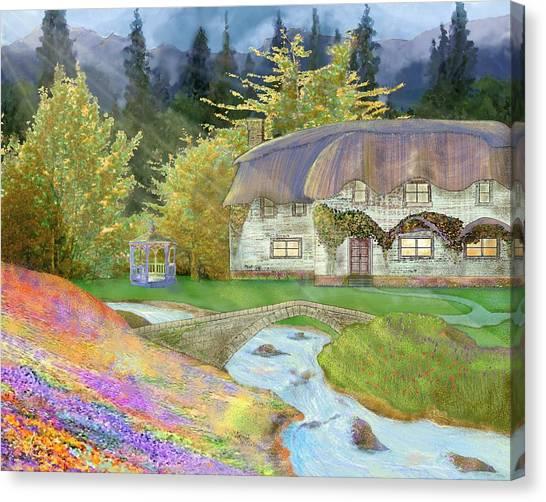 Cottage Canvas Print