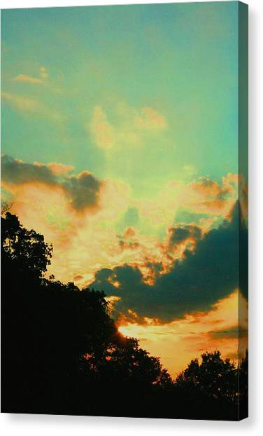 Cotton Candy Catastrophe Canvas Print
