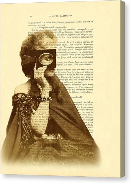 19th Century Canvas Print - Countess Of Castiglione by Madame Memento