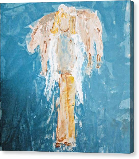 Country Angel Canvas Print