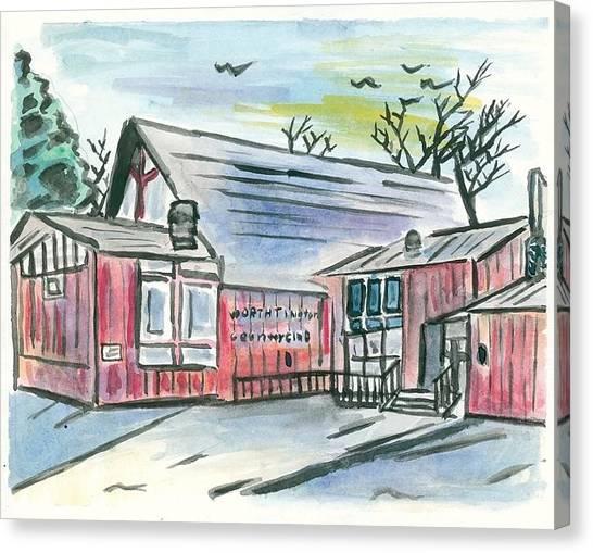 Country Club Canvas Print