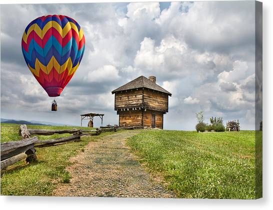 Southwest Canvas Print - Country Cruising  by Betsy Knapp