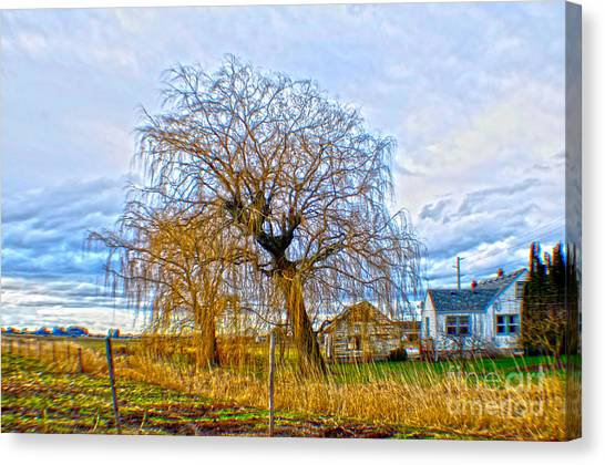 Country Life Artististic Rendering Canvas Print
