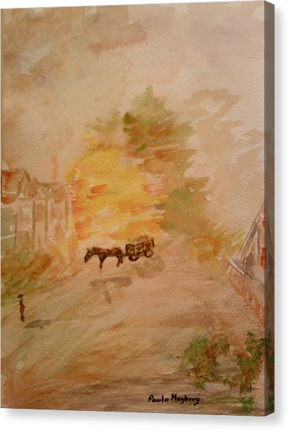 Country Life Canvas Print