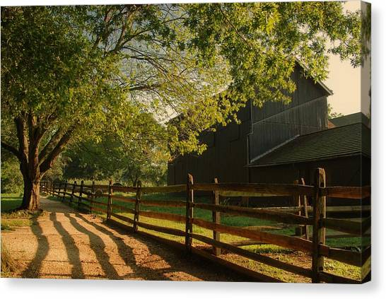 Country Morning - Holmdel Park Canvas Print
