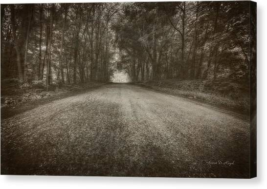 Country Canvas Print - Country Road by Everet Regal