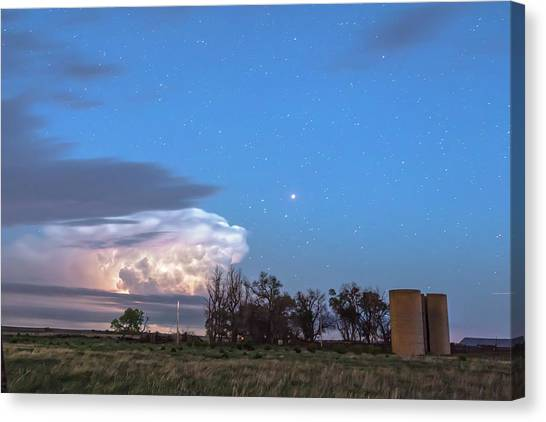 Weather Canvas Print - Country Storm Gone By by James BO Insogna