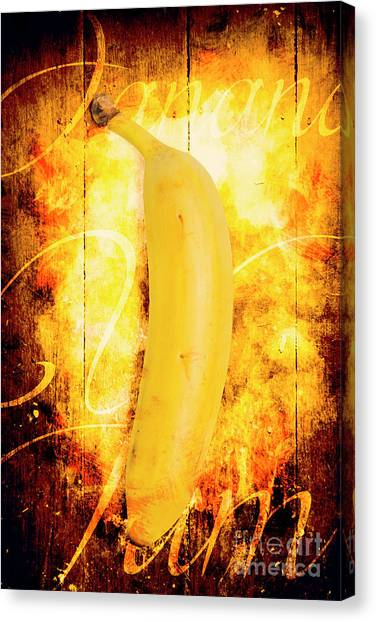 Bananas Canvas Print - Country Style Food Artwork by Jorgo Photography - Wall Art Gallery