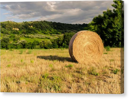Countryside Of Italy 3 Canvas Print by Andrea Mazzocchetti