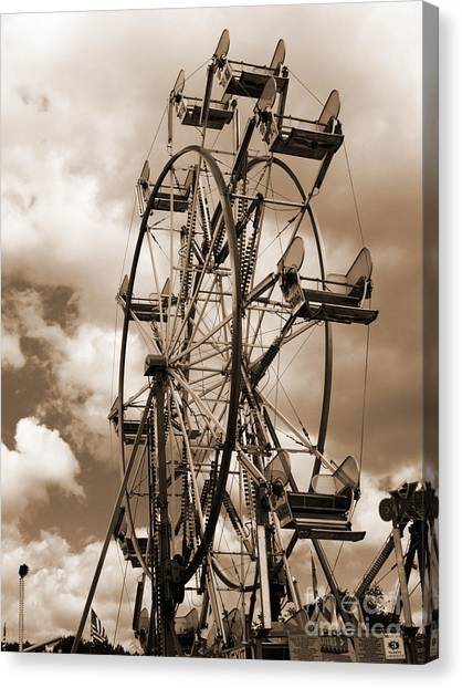 County Fair Canvas Print by Kathy Jennings