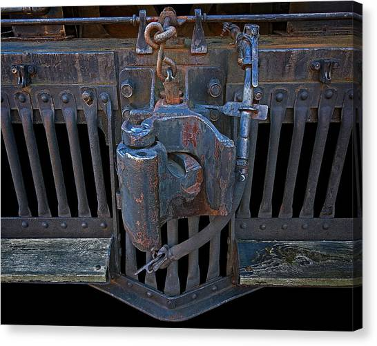 Canvas Print - Coupler by Murray Bloom