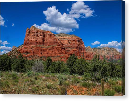 Courthouse Butte Canvas Print