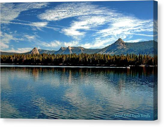 Courtright Reservoir Canvas Print