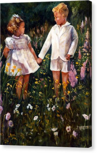 Cousins Canvas Print by Jimmie Trotter