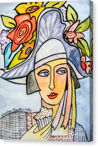 Couture Chapeau Canvas Print