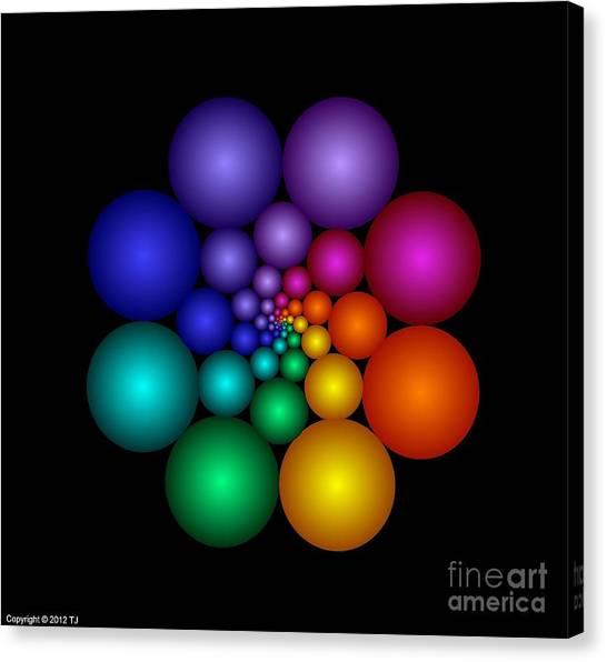 Covalent 8 Canvas Print