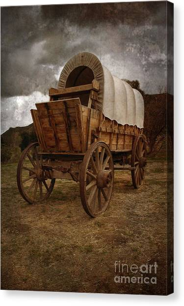Covered Wagon 1 Canvas Print