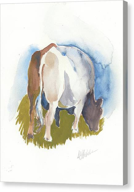 Cow I Canvas Print