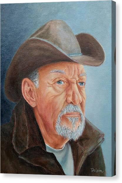 Cowboy Bob Canvas Print