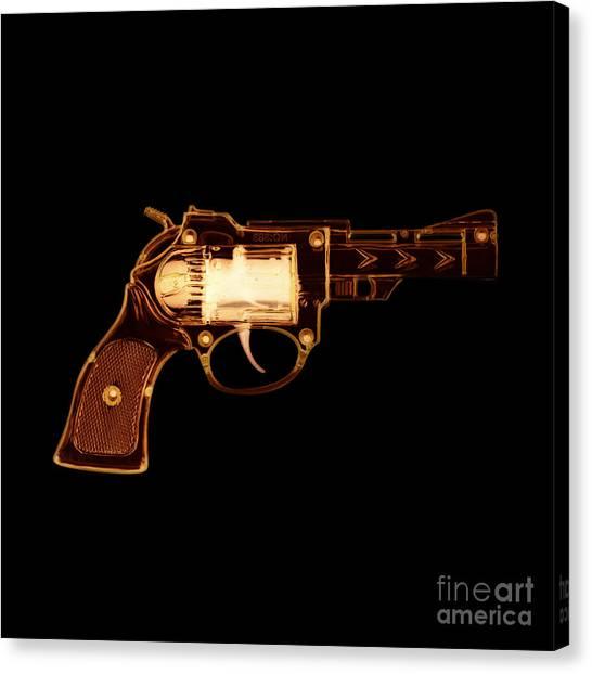 Cowboy Gun 002 Canvas Print