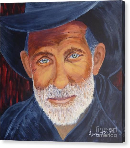 Cowboy Tex Canvas Print