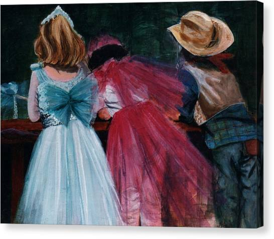 Cowboys And Queens Canvas Print by Victoria Heryet