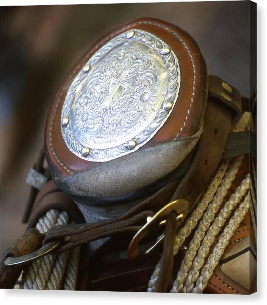 Cowboys Horn Canvas Print