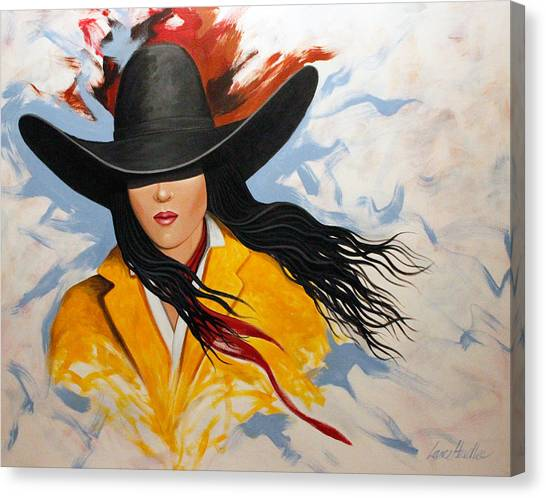Cowgirl Colors #3 Canvas Print