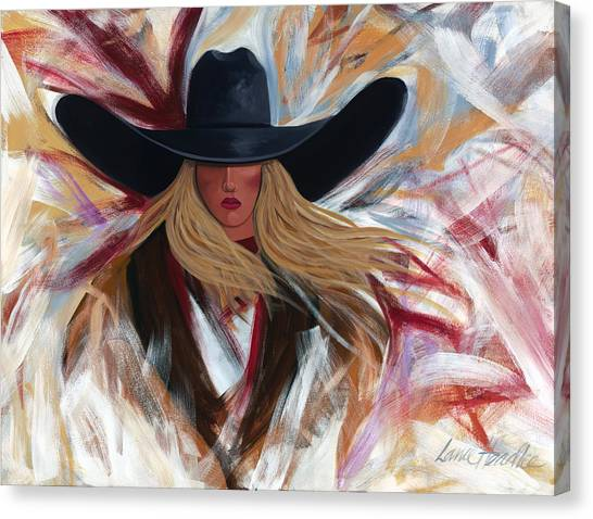 Cowgirl Colors Canvas Print