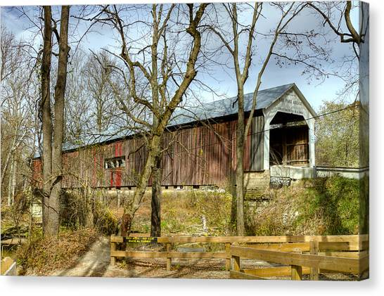 Cox Ford Covered Bridge Canvas Print