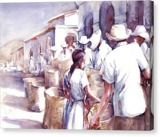 Coyotepec Canvas Print