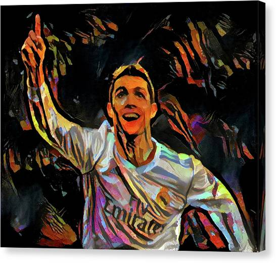 Cristiano Ronaldo Canvas Print - CR7 by ArtMarketJapan