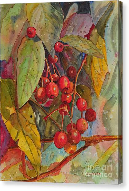 Crab Apples I Canvas Print