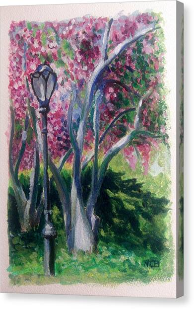 Crabapple Spring Burst Canvas Print
