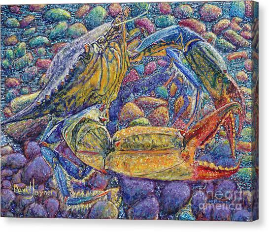 Crabby Canvas Print