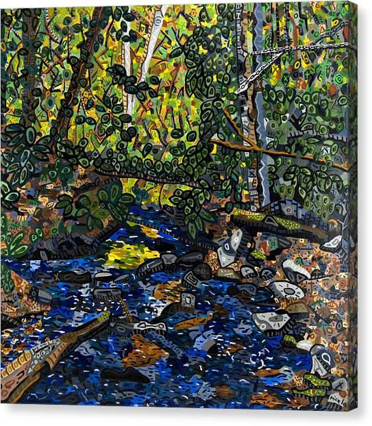 Crabtree Creek Canvas Print by Micah Mullen
