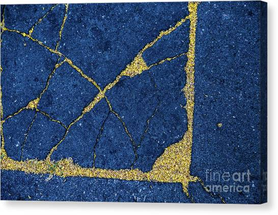 Cracked #8 Canvas Print