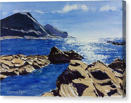 Crackington Haven Sparkle Canvas Print