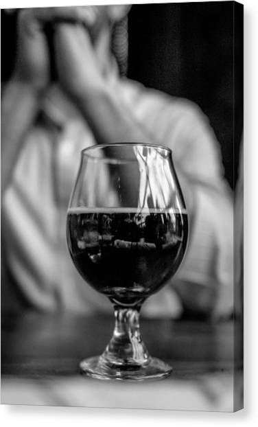 Craft Beer Canvas Print - Craft Brew by Michael Flores