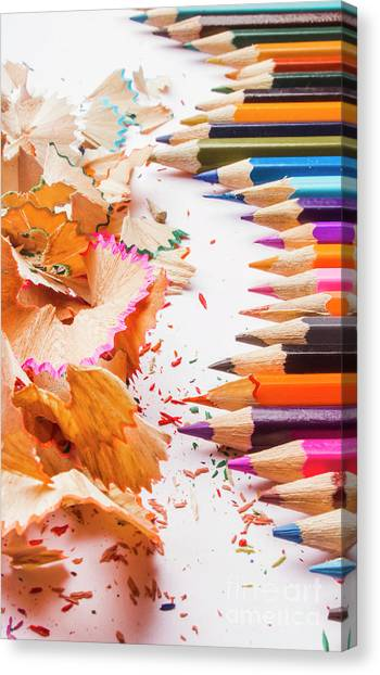 Pencils Canvas Print - Craft In Sharpening by Jorgo Photography - Wall Art Gallery