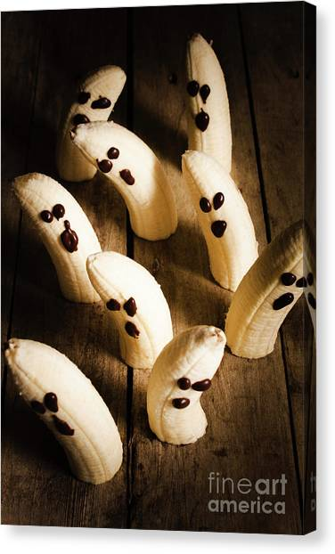 Bananas Canvas Print - Crafty Ghost Bananas by Jorgo Photography - Wall Art Gallery