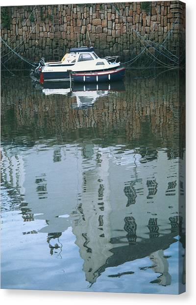 Crail Reflections II Canvas Print