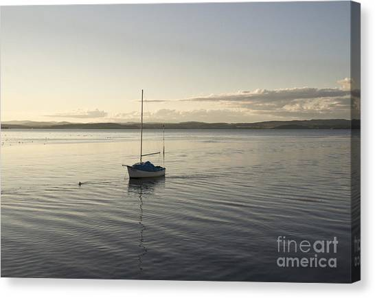 Cramond. Boat. Canvas Print