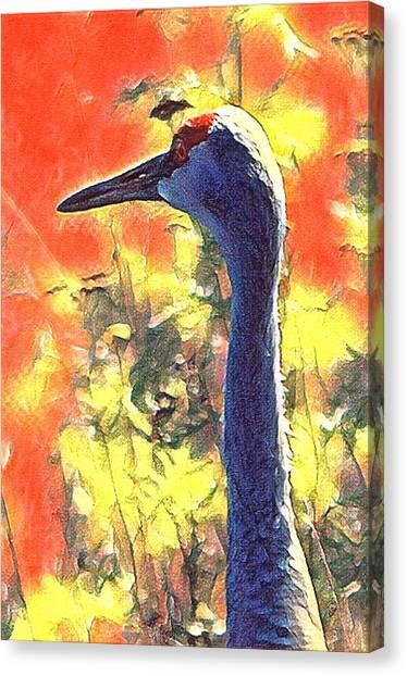 Crane View Canvas Print
