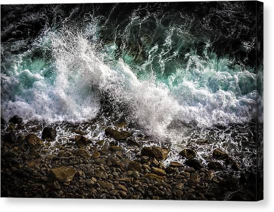 Crashing Surf Canvas Print