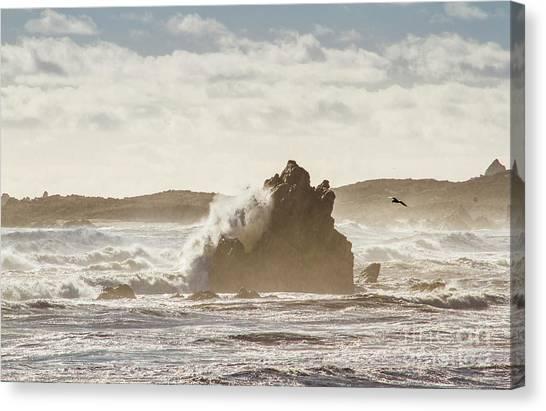 North Shore Canvas Print - Crashing Tide by Jorgo Photography - Wall Art Gallery