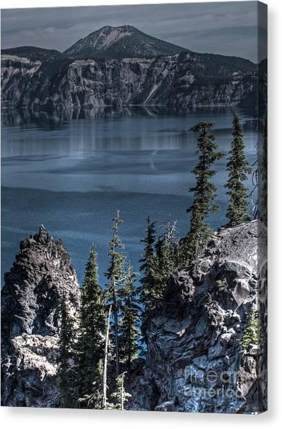 Crater Lake 4 Canvas Print