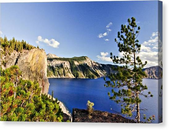 Crater Lake II Canvas Print