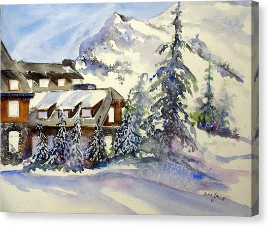 Crater Lake Lodge - Closed For Winter    Canvas Print