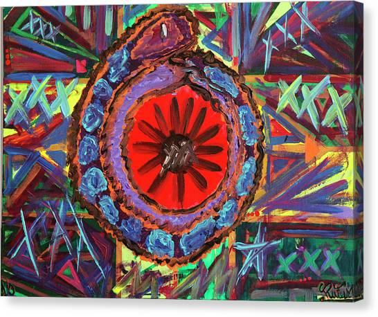 Crazil Canvas Print